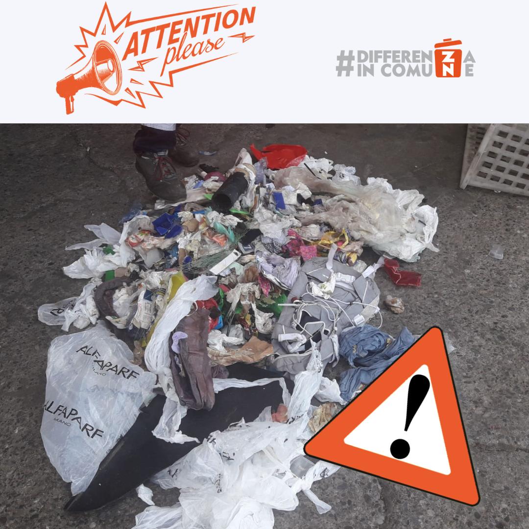 Analisi imballaggi di plastica- Agosto - percentuale Frazione Estranea 14% !